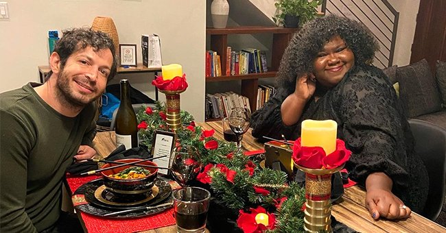 Gabby Sidibe's Fiancé Brandon Proudly Shares a Short Glimpse of Her Cooking for Him