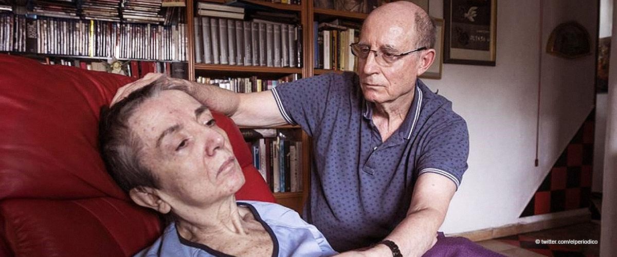 Mann half seiner Frau beim Sterben und bewahrte sie bereits vor 23 Jahren vor dem Selbstmord