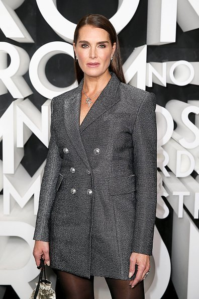 Brooke Shields at the Nordstrom NYC Flagship Opening Party on on October 22, 2019 | Photo: Getty Images