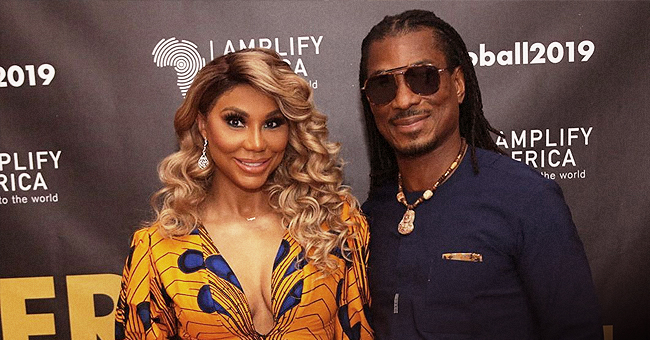 Tamar Braxton's Boyfriend Shares past Pic of Singer Washing His Dishes on Anniversary