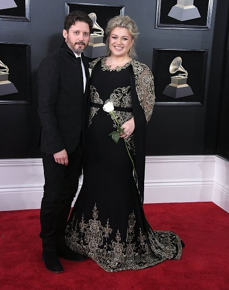 Kelly Clarkson and Brandon Blackstock at the 60th Annual GRAMMY Awards | Photo: Getty Images