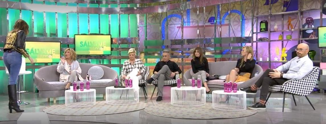 Lydia Lozano en Sálvame. Fuente: Telecinco