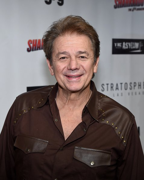 """Adrian Zmed attends the premiere of Syfy's """"Sharknado: The 4th Awakens"""" at the Stratosphere Casino Hotel 