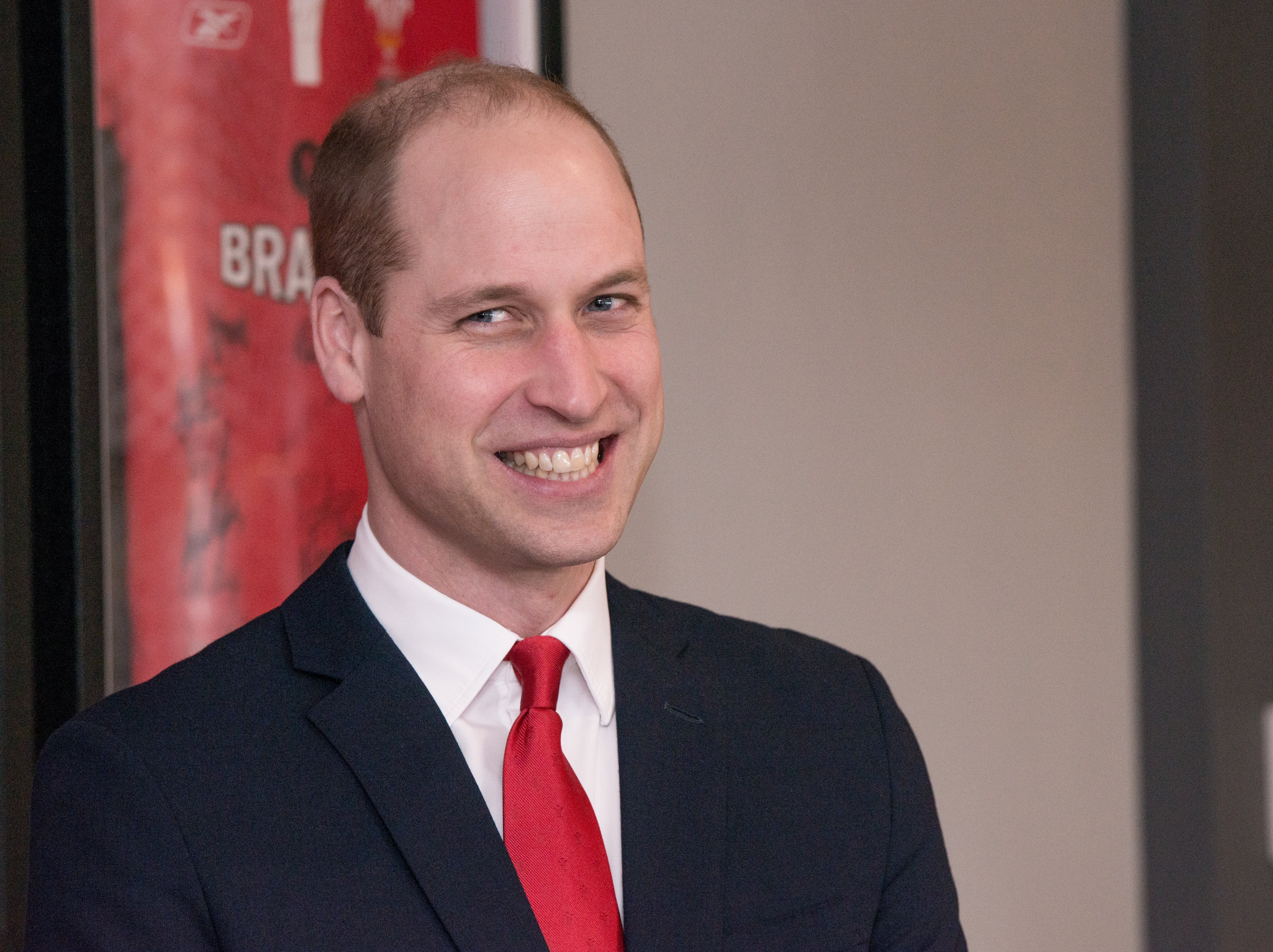Prince William, Duke of Cambridge officially opens Brains Brewery, before attending the Wales vs Ireland Six Nations Match on March 16, 2019 | Photo: Getty Images