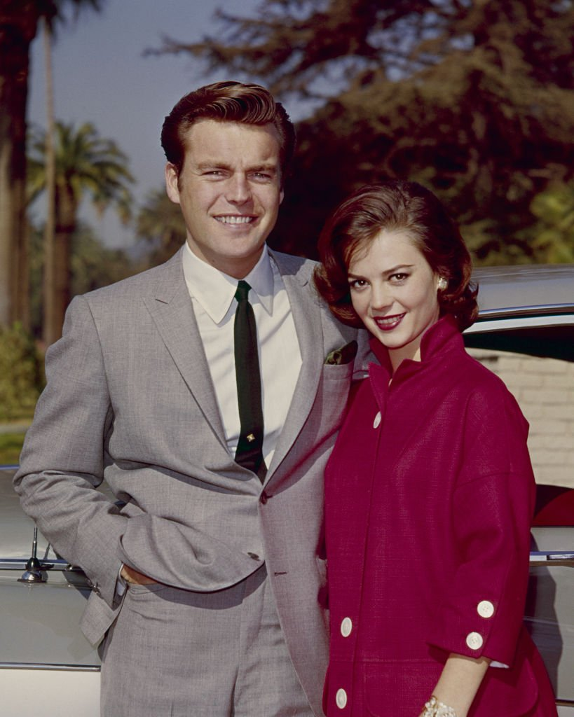 Natalie Wood and Robert Wagner on January 01, 1960   Photo: Getty Images