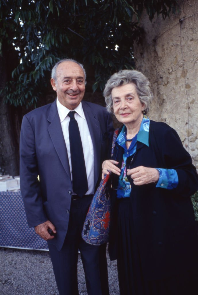 Andrée Chedid et son mari. | Photo : Getty Images