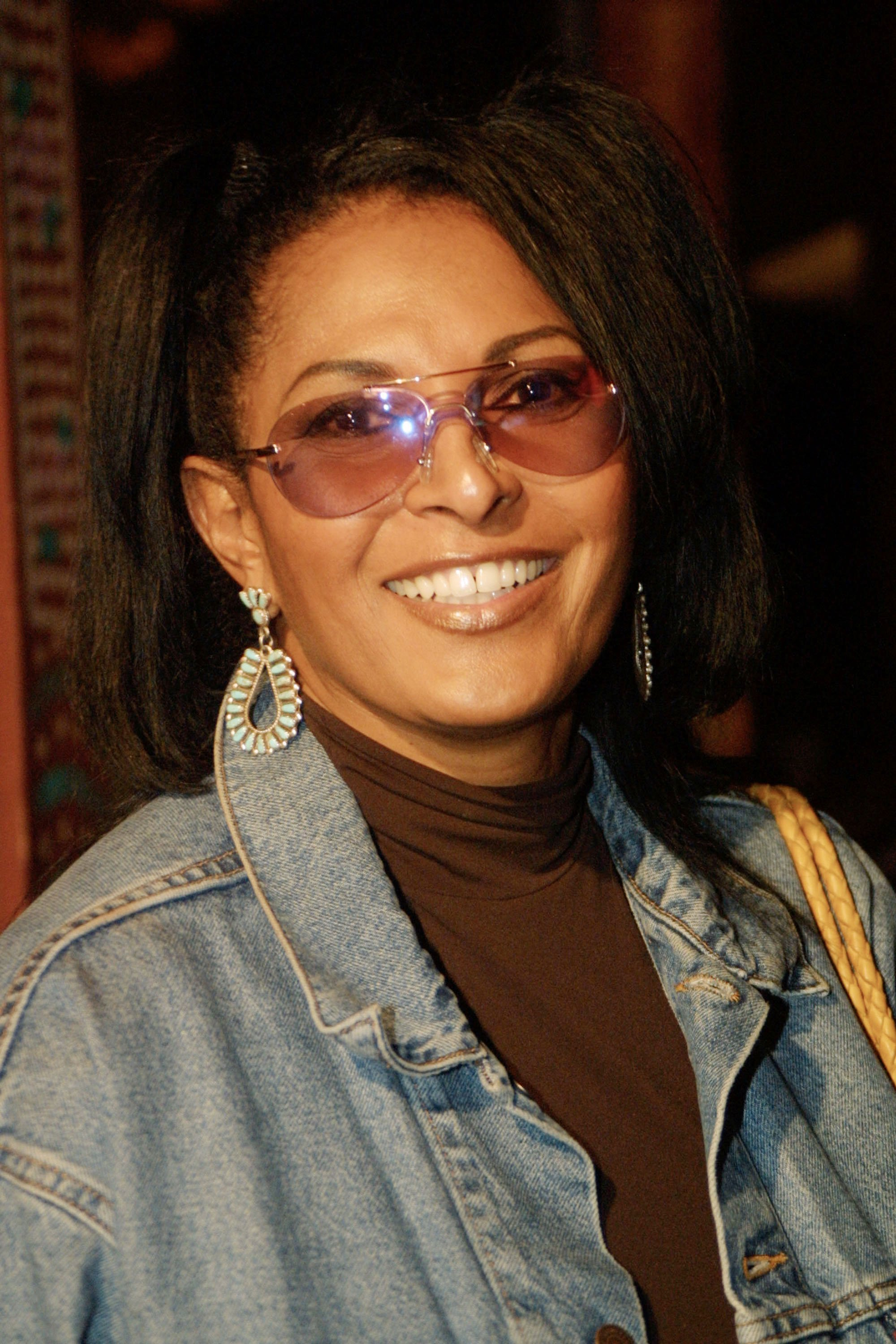 """Pam Grier at the world premiere of """"Bones"""" on October 23, 2001 in Los Angeles. 
