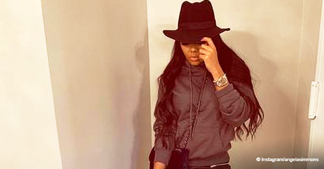 Angela Simmons Raises Eyebrows, Dressing à La Mj after Saying Ex Sutton Left Son 'in Great Hands'