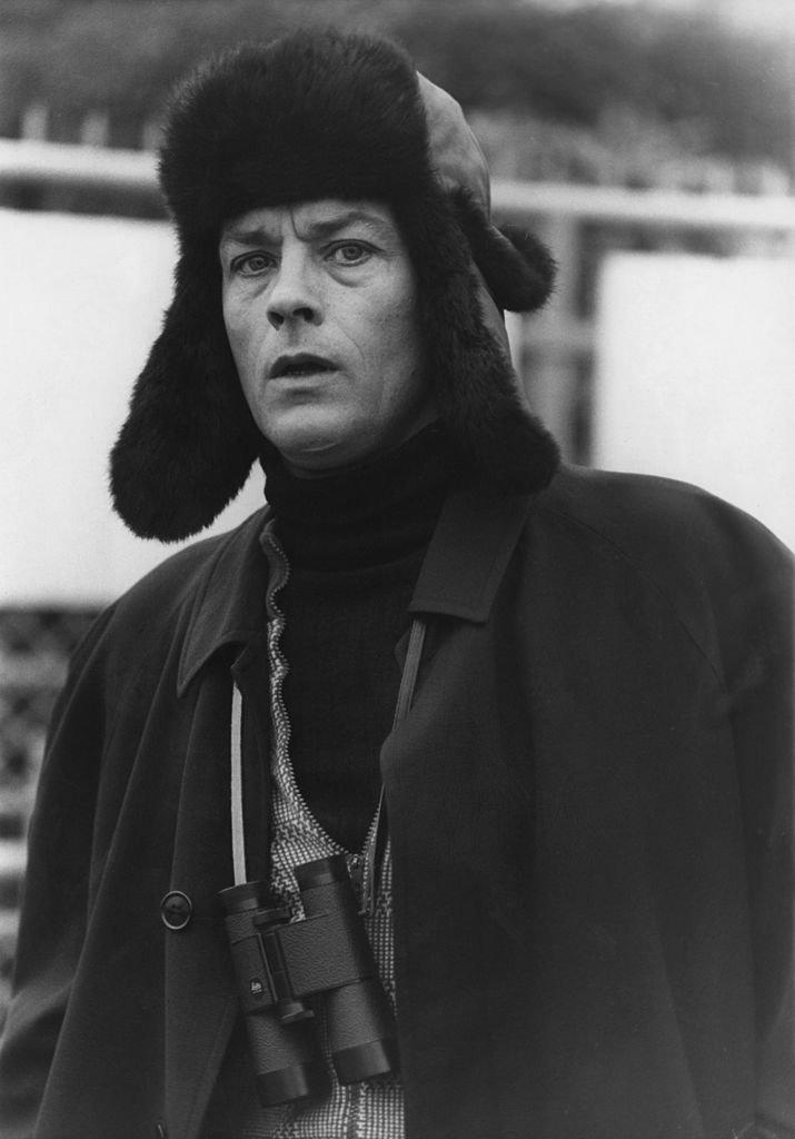 L'acteur français Alain Delon à Paris le 22 janvier 1976. l Source : Getty Images