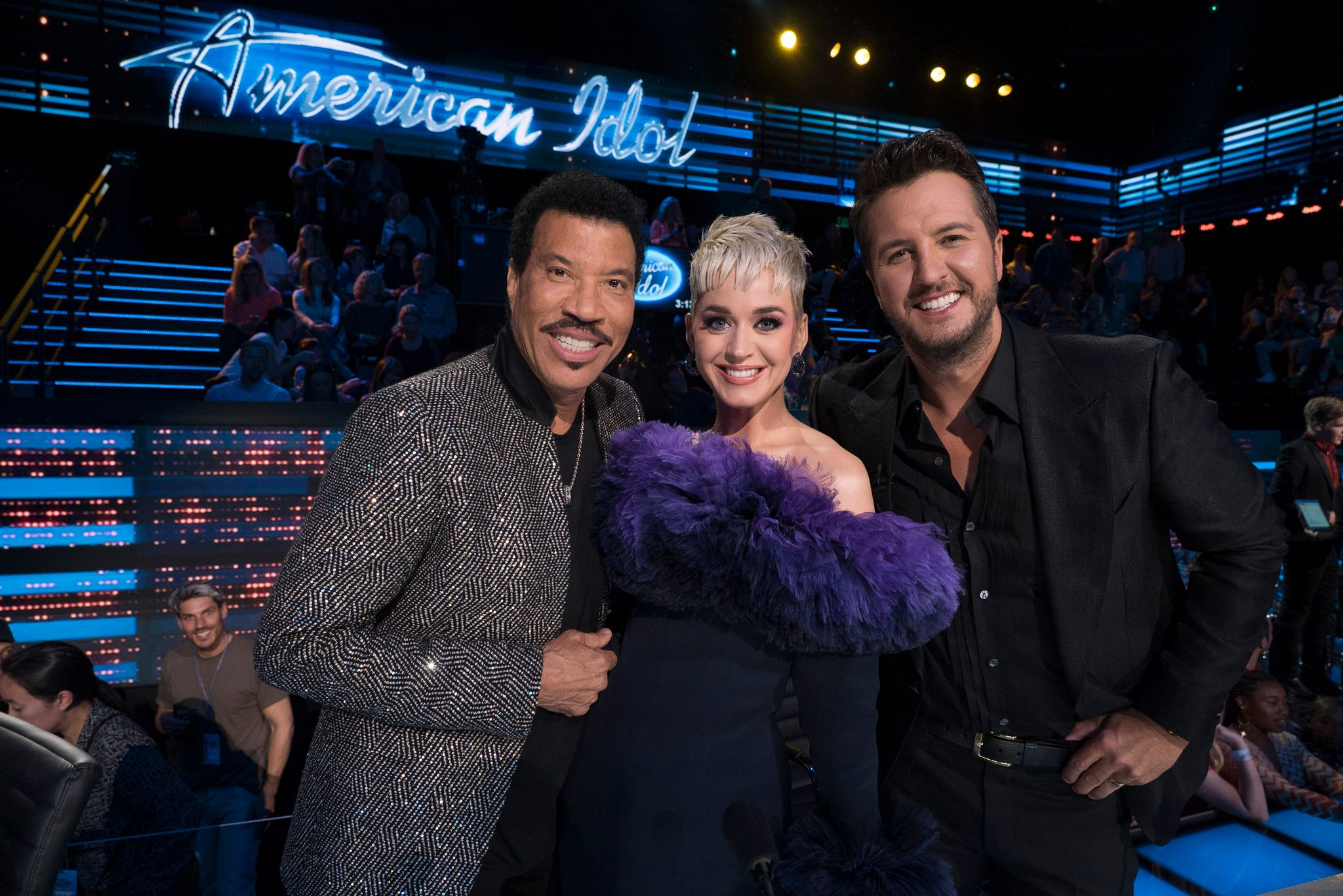 American Idol Judges Lionel Richie, Katy Perry and Luke Bryan  Photo: Getty Images
