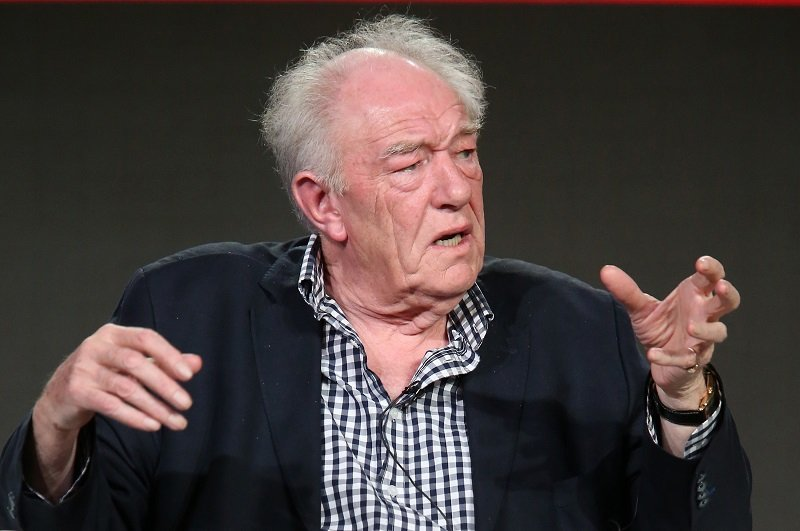 Michael Gambon on January 18, 2016 in Pasadena, California   Photo: Getty Images