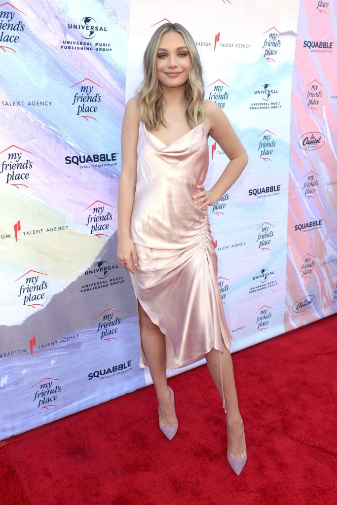 Dancer Maddie Ziegler attends Ending Youth Homelessness: A Benefit for My Friend's Place at Hollywood Palladium   Photo: Getty Images