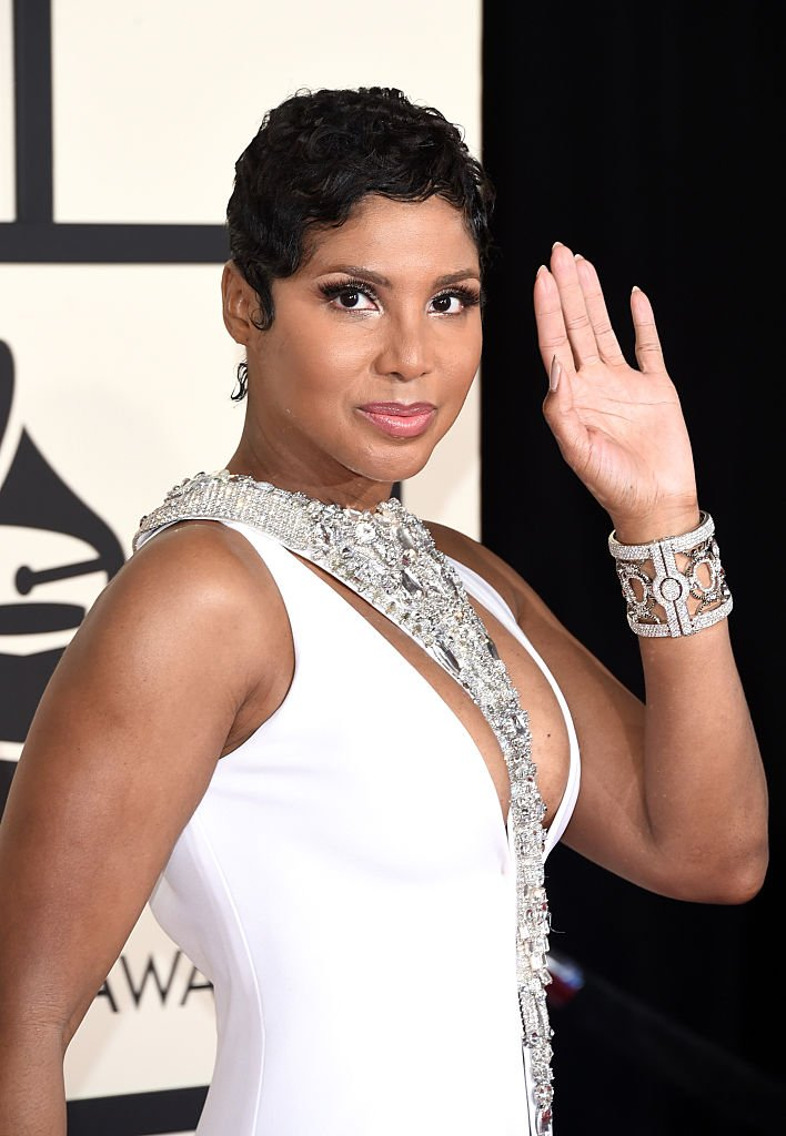 R&B icon Toni Braxton attends the 57th Annual Grammy Awards in Los Angeles, California in 2015. | Photo: Getty Images