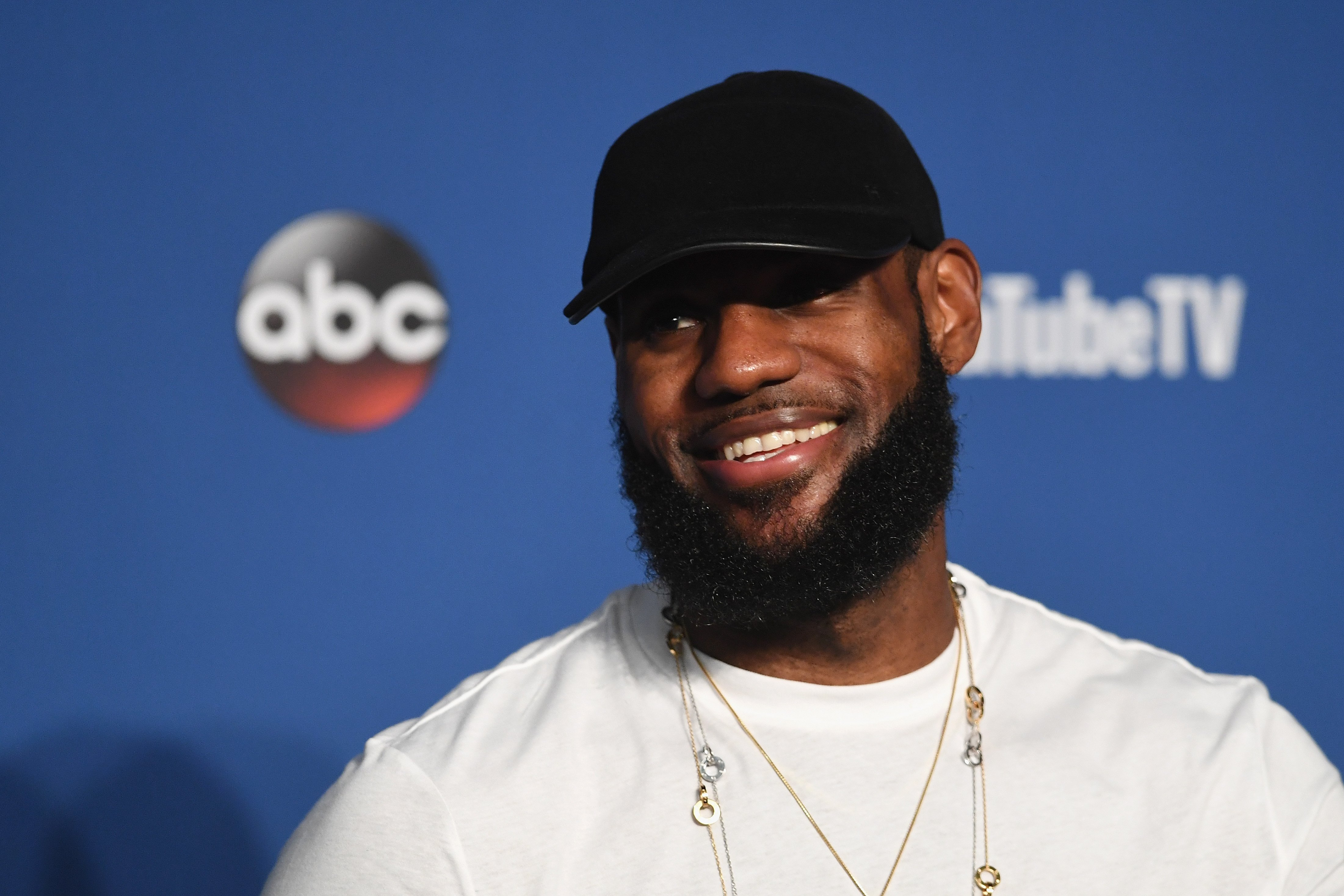 LeBron James after the fourth game in the 2018 NBA Finals in Cleveland, Ohio. | Photo: Getty Images