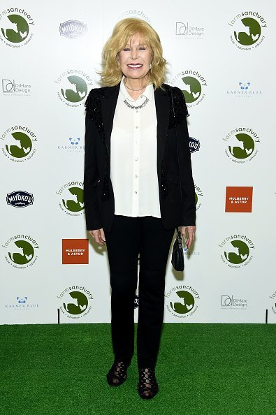 Loretta Swit attends the 2018 Farm Sanctuary on the Hudson gala at Pier 60 in New York City | Photo: Getty Images