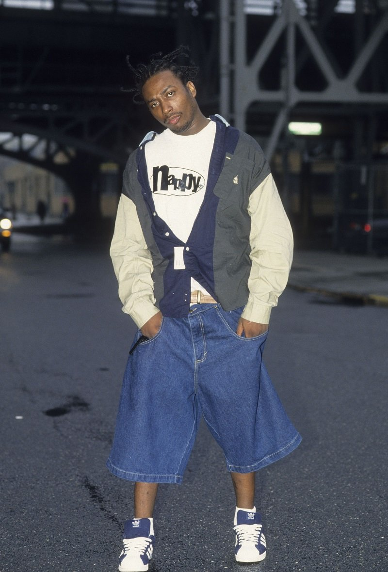 Rapper Ol' Dirty Bastard in the Queens borough of New York City on April 21, 1995 | Photo: Getty Images