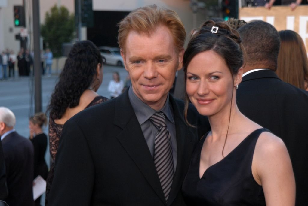 David Caruso und Ex-Frau Margaret während der 29. jährlichen People's Choice Awards im Pasadena Civic Auditorium in Pasadena, CA, USA. (Foto von Jeff Kravitz / FilmMagic) I Quelle: Getty Images