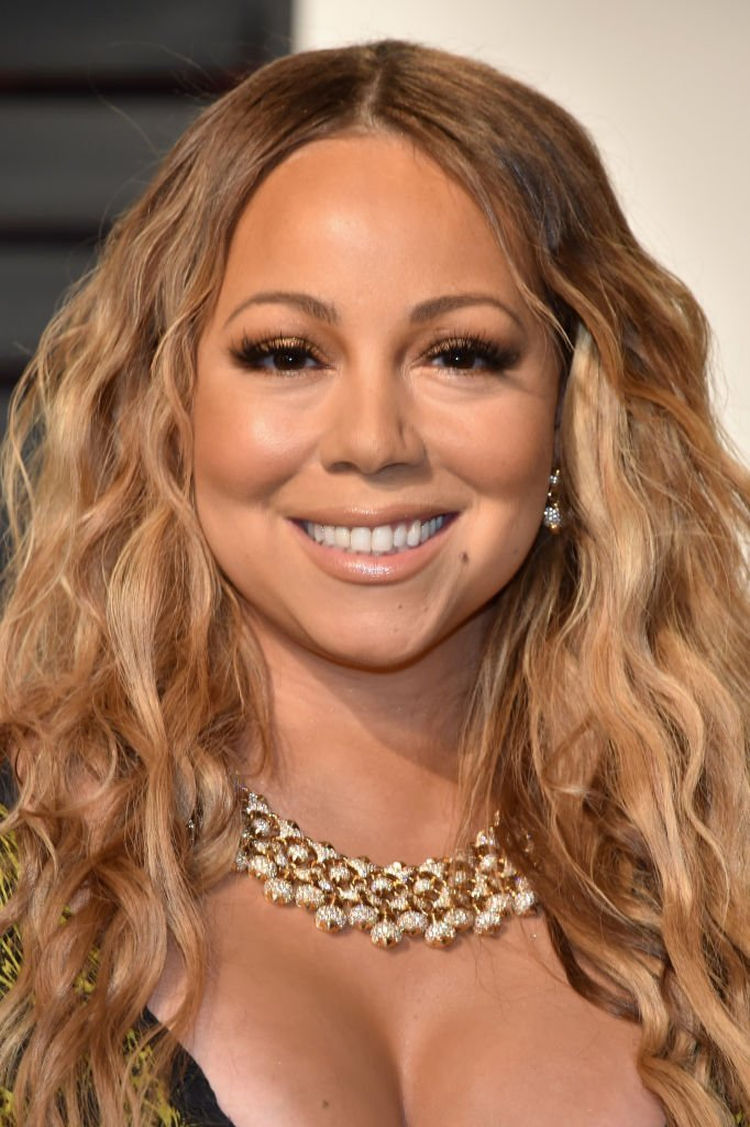 Mariah Carey attends the 2017 Vanity Fair Oscar Party at Wallis Annenberg Center for the Performing Arts on February 26, 2017. | Source: Getty Images