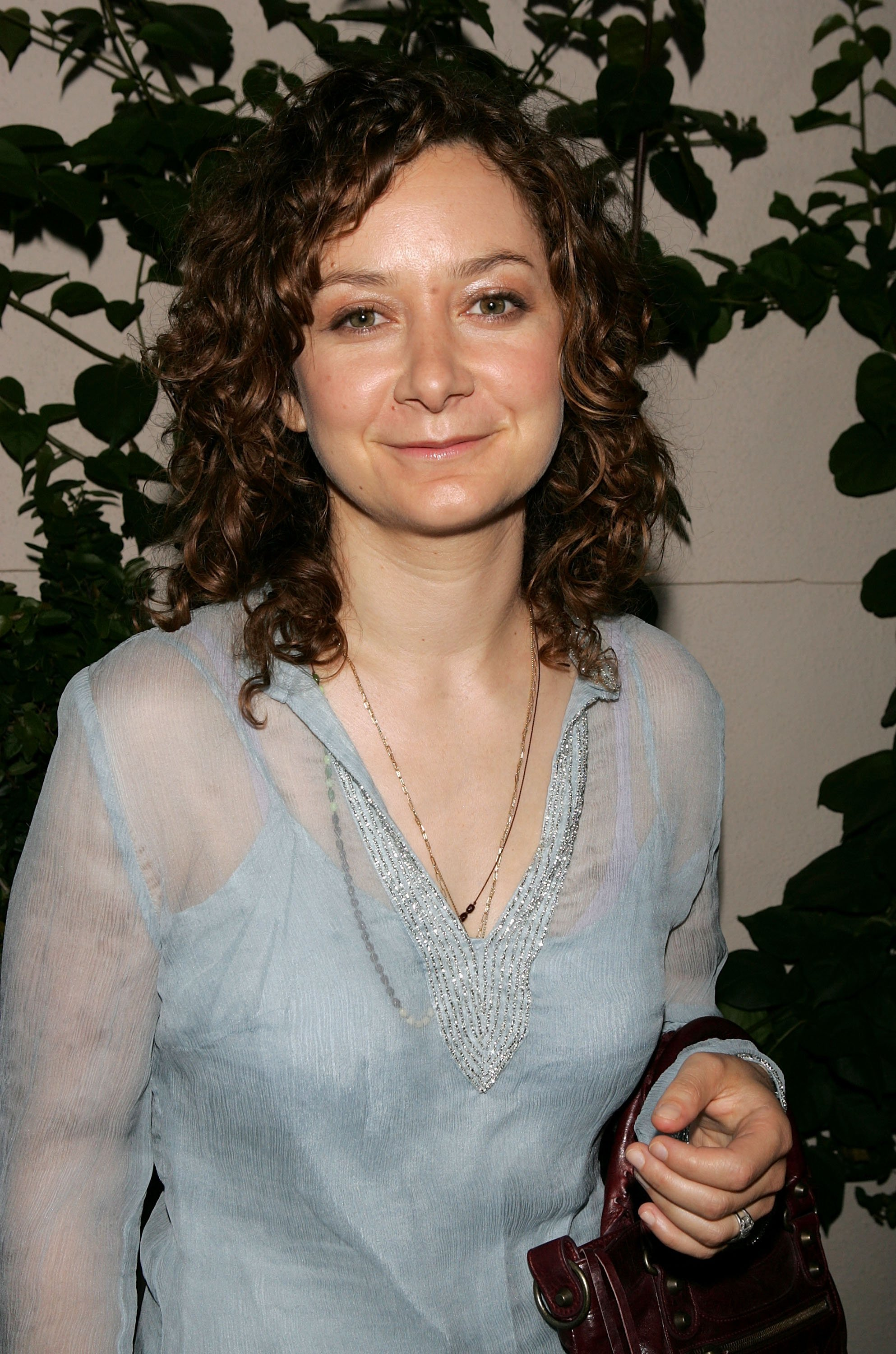 Sara Gilbert attends WB Network's 2005 All Star Celebration at The Cabana Club in Los Angeles in July 2005   Photo: Getty Images