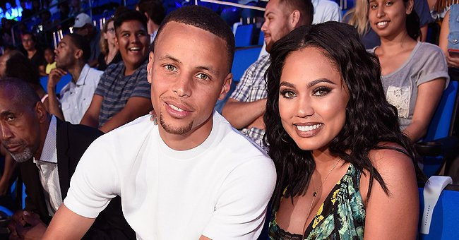 Stephen Curry's Wife Ayesha Stuns in Pink Suit Showing Her Gorgeous Black Hair in New Photos