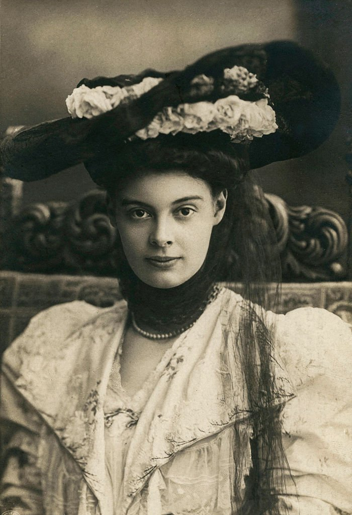 Duchess Cecilie of Mecklenburg-Schwerin (1886-1954), Crown Princess of Prussia, born in Schwerin (Germany). Ca. 1905. | Photo: Getty Images