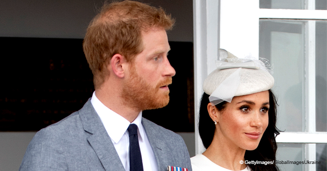 Prince Harry Caught Trying to Explain Meghan's Pregnancy to Schoolkids & the Video Is Pure Gold