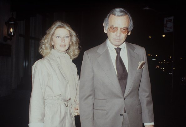David Janssen with is wife Dani in New York, circa 1970.   Photo: Getty Images