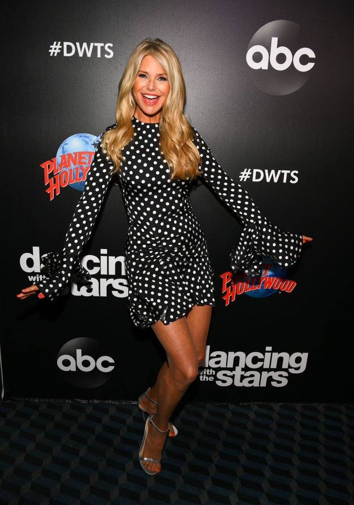 "Christie Brinkley at the 2019 ""Dancing With The Stars"" Cast Reveal Party. 
