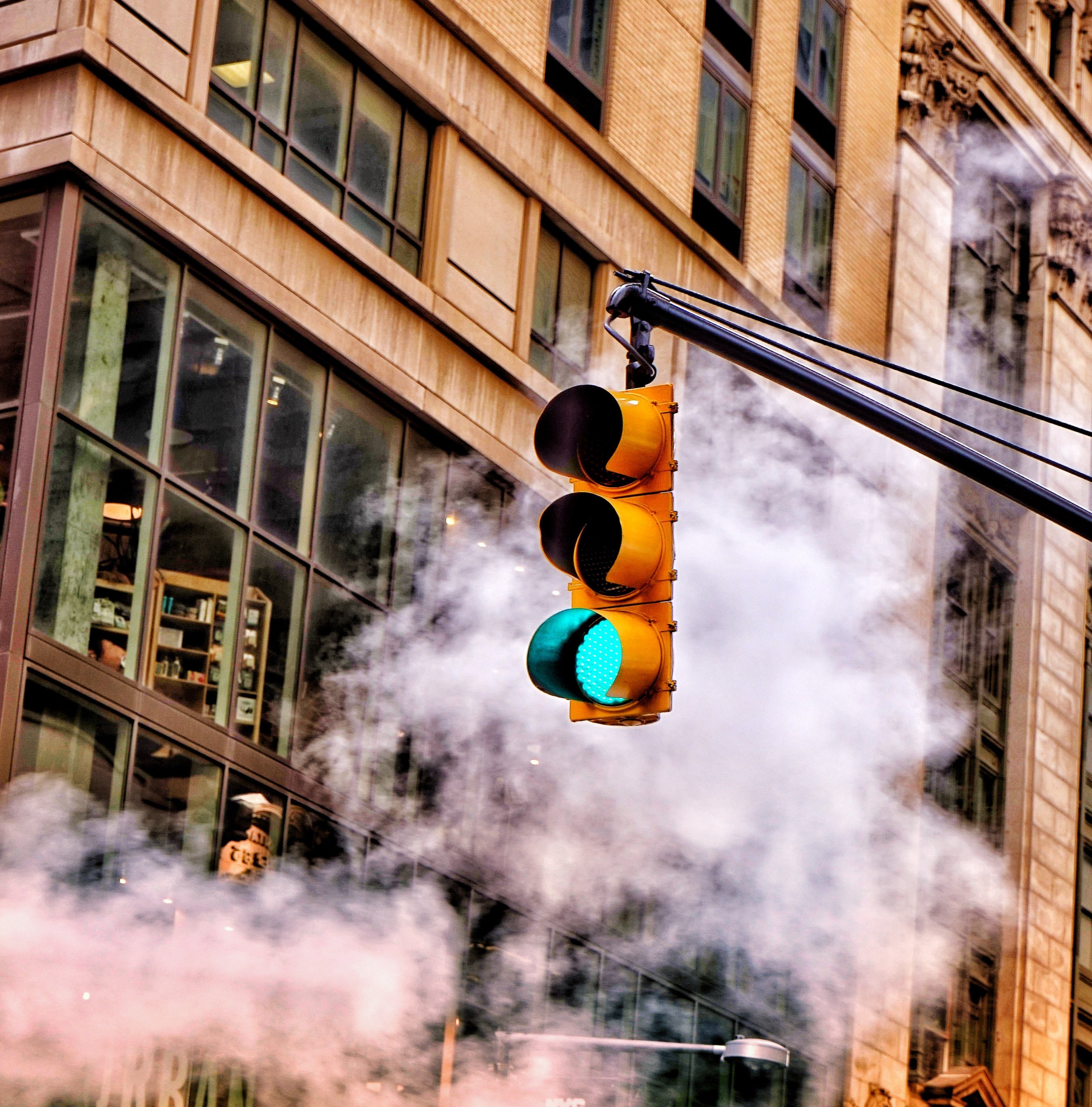 A traffic signal. | Source: Unsplash