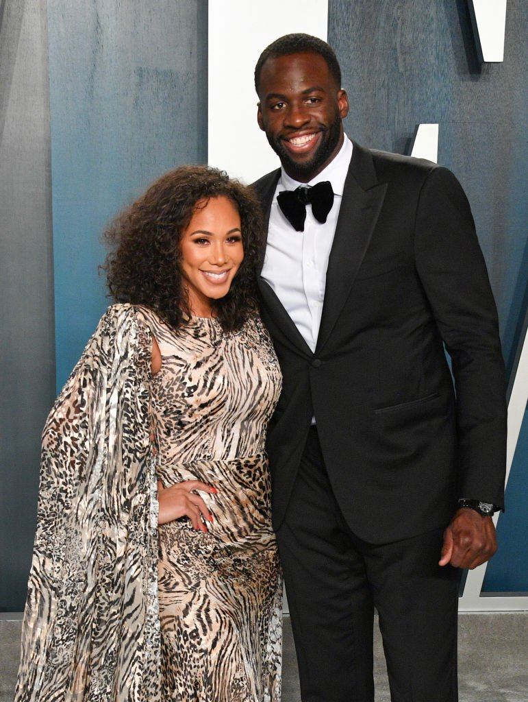 Hazel Renee and Draymond Green attend the 2020 Vanity Fair Oscar Party in February 2020   Photo: Getty Images