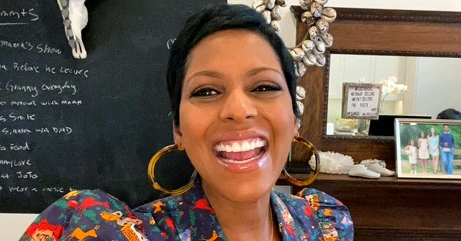 Tamron Hall Impresses Fans as She Participates in Viral #BussItChallenge — See Their Reactions