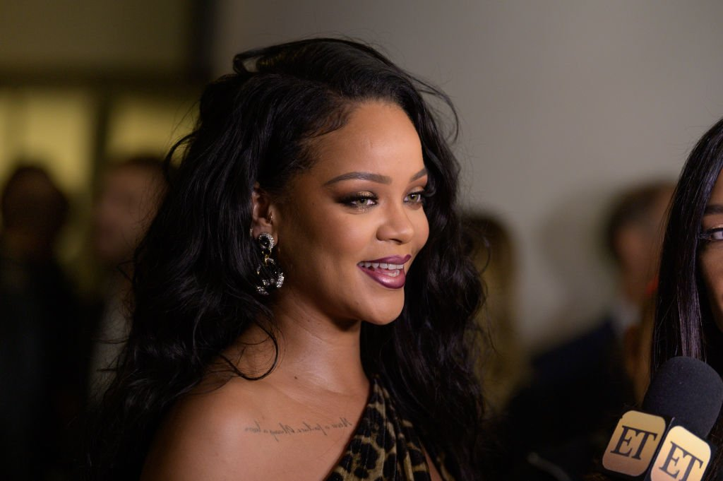 """Singer Rihanna attends the launch of her first visual autobiography, """"Rihanna"""" at Guggenheim Museum 