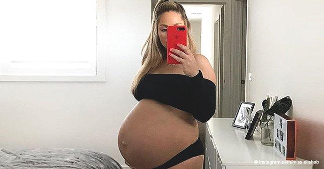 """Mama verrät, dass sie für ihren enormen Babybauch gemobbt wurde: """"Es hat wehgetan."""""""
