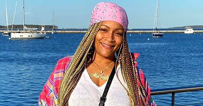 LL Cool J's Wife Simone Rocks a Mask in Recent Selfie as She Flaunts Her Long & Colorful Braids