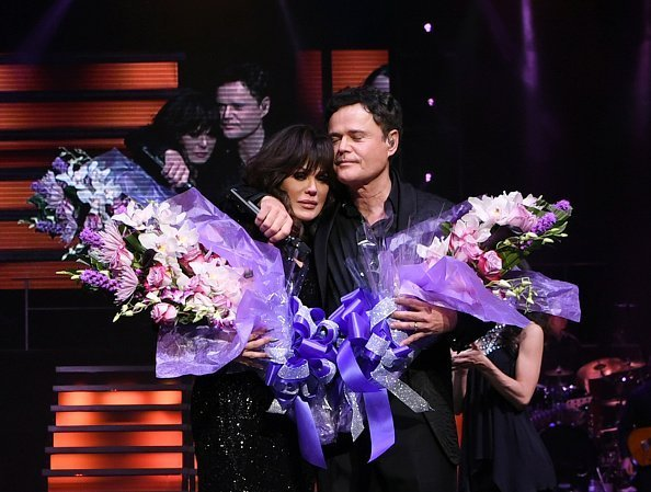 Donny & Marie Osmond during their final performance in Las Vegason November 16, 2019 | Photo: Getty Images
