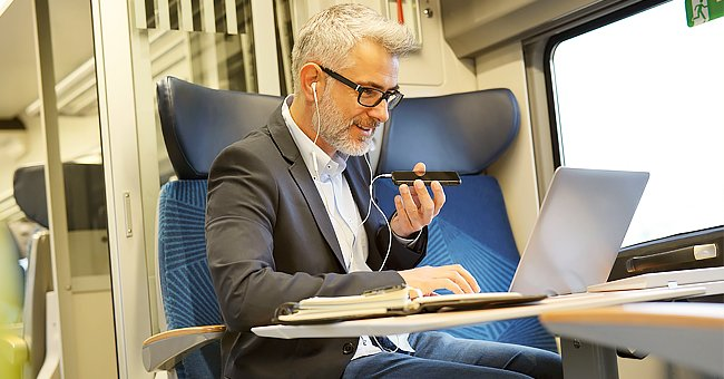 A man sitting on the train | Photo: Shutterstock