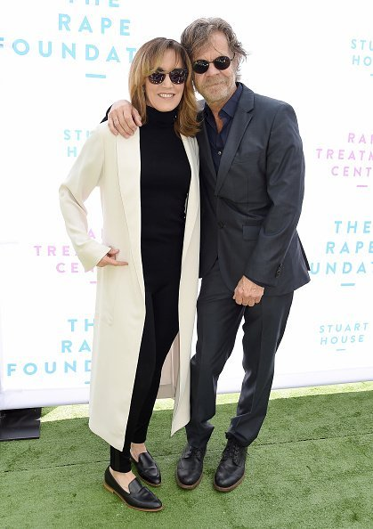 Felicity Huffman and William H. Macy at The Rape Foundation's Annual Brunch on October 7, 2018 | Photo: Getty Images
