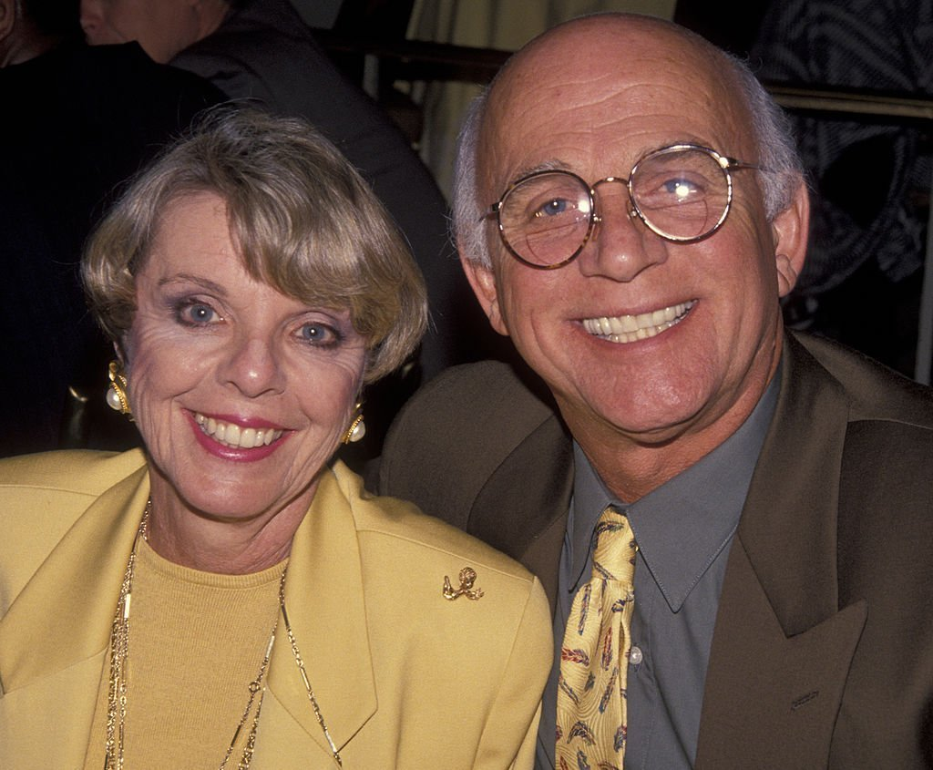 Actor Gavin MacLeod und seine Frau Patti MacLeod besuchen Third Annual Producer's Guild of America Awards, 1992 | Quelle: Getty Images