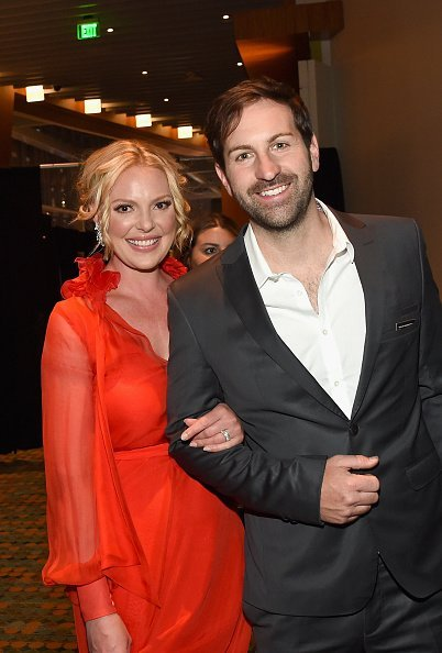 Josh Kelley and Katherine Heigl attend the 2017 CMT Music awards at the Music City Center on June 7, 2017, in Nashville, Tennessee. | Source: Getty Images.