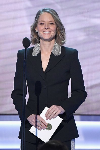 Jodie Foster speaks onstage during the 25th Annual Screen Actors Guild Awards at The Shrine Auditorium on January 27, 2019, in Los Angeles, California. | Source: Getty Images.