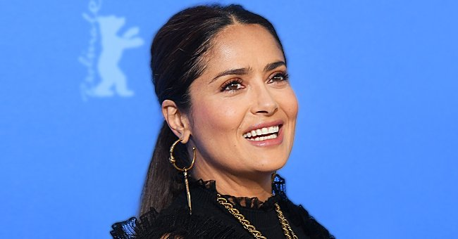 Salma Hayek a Shares Breathtaking Throwback Photo Showing Her Endless Legs in Stylish Stilettos