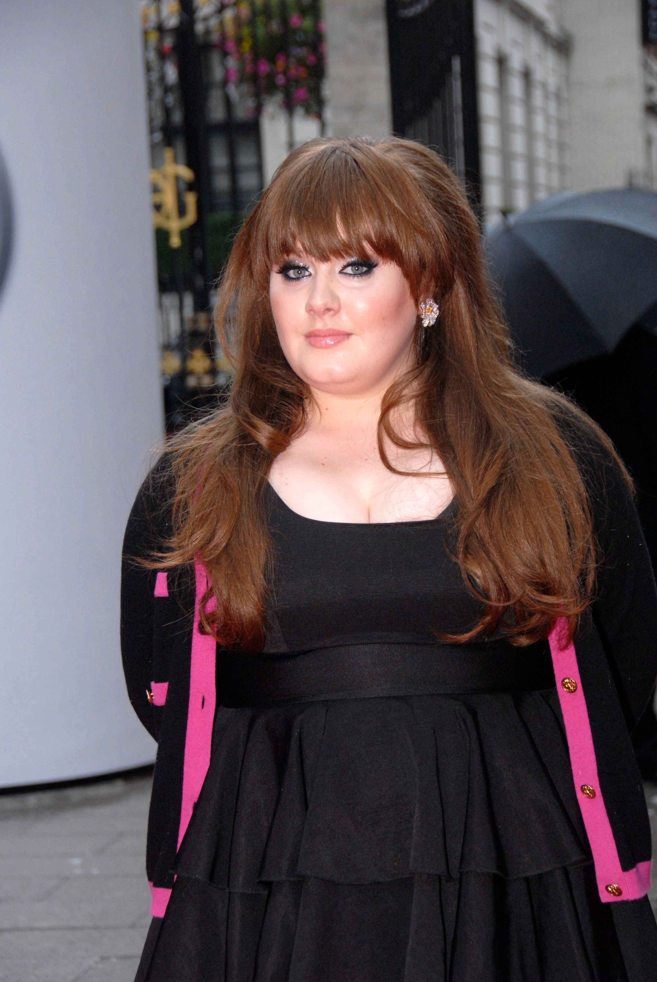 Adele arriving at Mercury Music Awards, London, 9th September 2008. | Source: Getty Images
