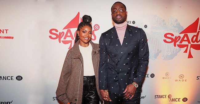 Gabrielle Union of 'Bring It On' Fame Smiles and Holds Hands With Husband Dwyane Wade in Sweet Photo