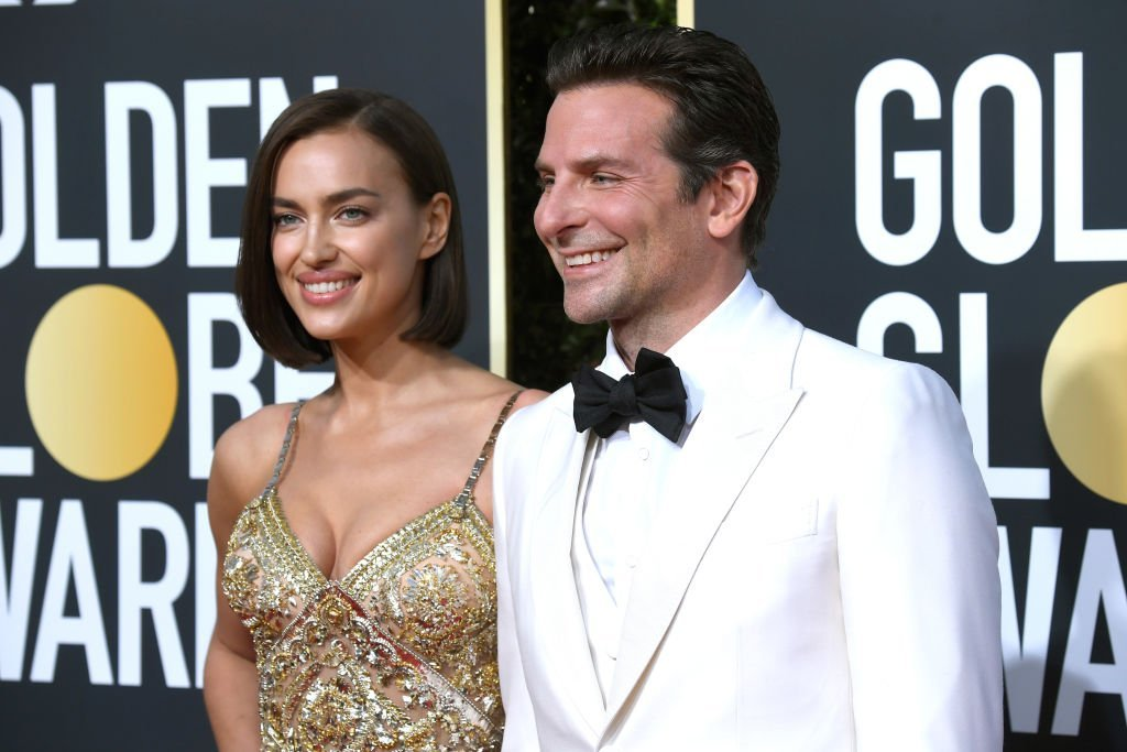 Irina Shayk (L) and Bradley Cooper attend the 76th Annual Golden Globe Awards at The Beverly Hilton Hotel | Photo: Getty Images
