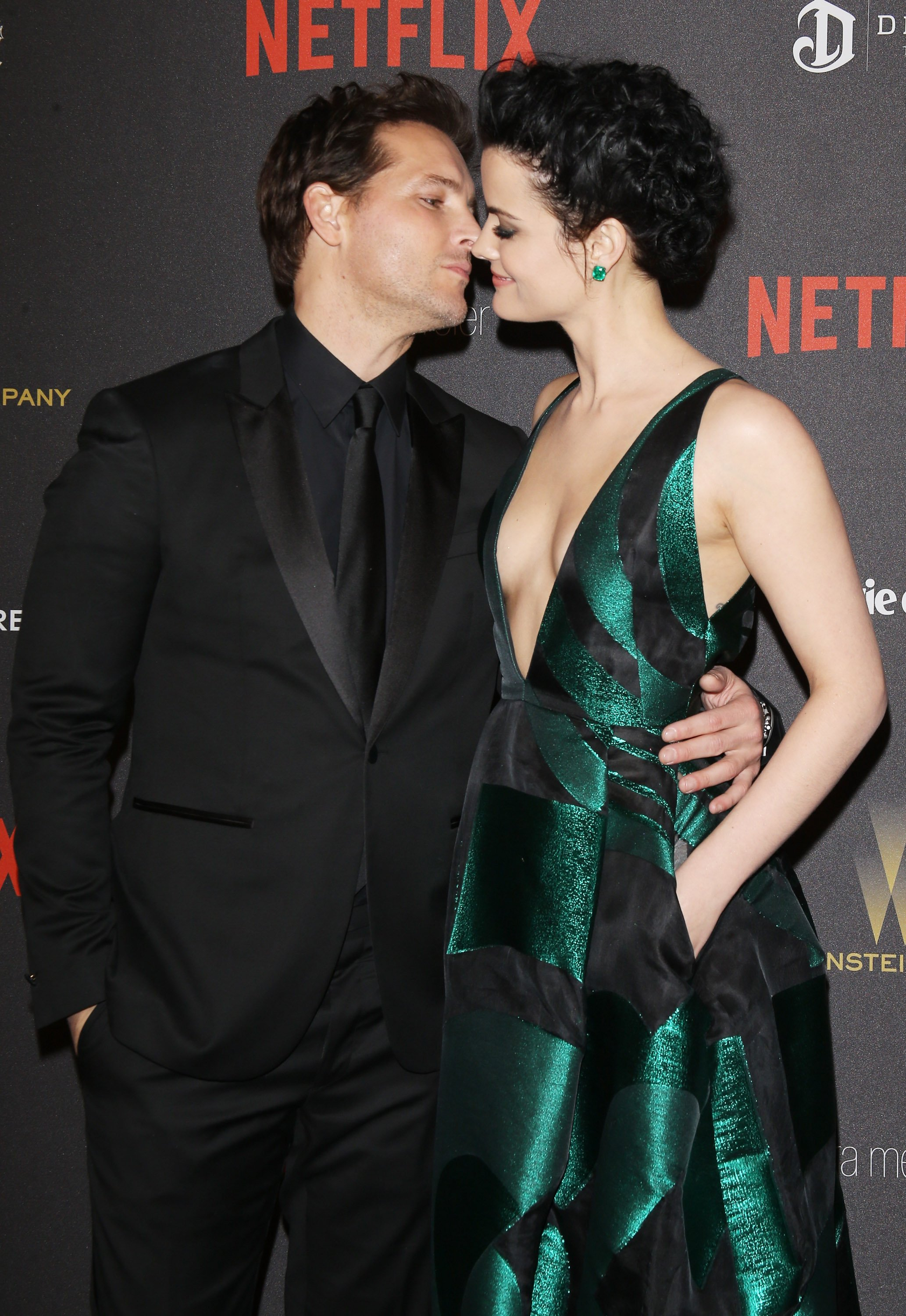 Peter Facinelli and Jaimie Alexander at the 2016 Weinstein Company on January 10, 2016 | Photo: Getty Images