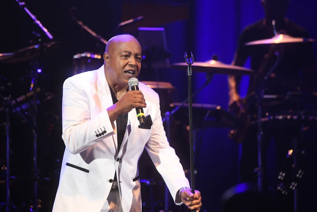 """Peabo Bryson performs onstage during """"The Gentlemen Of Soul"""" concert at Mable House Barnes Amphitheatre on July 20, 2019 in Mableton, Georgia. 
