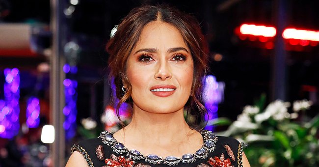 Salma Hayek Delights Fans with a Sweet Throwback Photo — Check Out the Hollywood Superstar