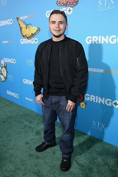 Prince Jackson attends the world premiere of 'Gringo' from Amazon Studios and STX Films at Regal LA Live Stadium 14 on March 6, 2018, in Los Angeles, California.   Source: Getty Images.