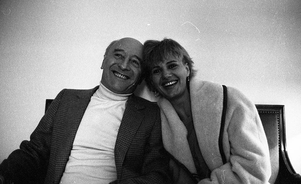 L'actrice Miou-Miou et le réalisateur Michel Audiard en 1981. l Source : Getty Images