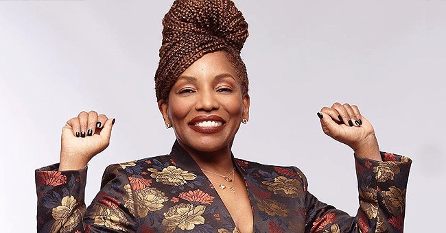 Stephanie Mills Proudly Shows Her Special Needs Son Farad with a Children's Book He Had Written